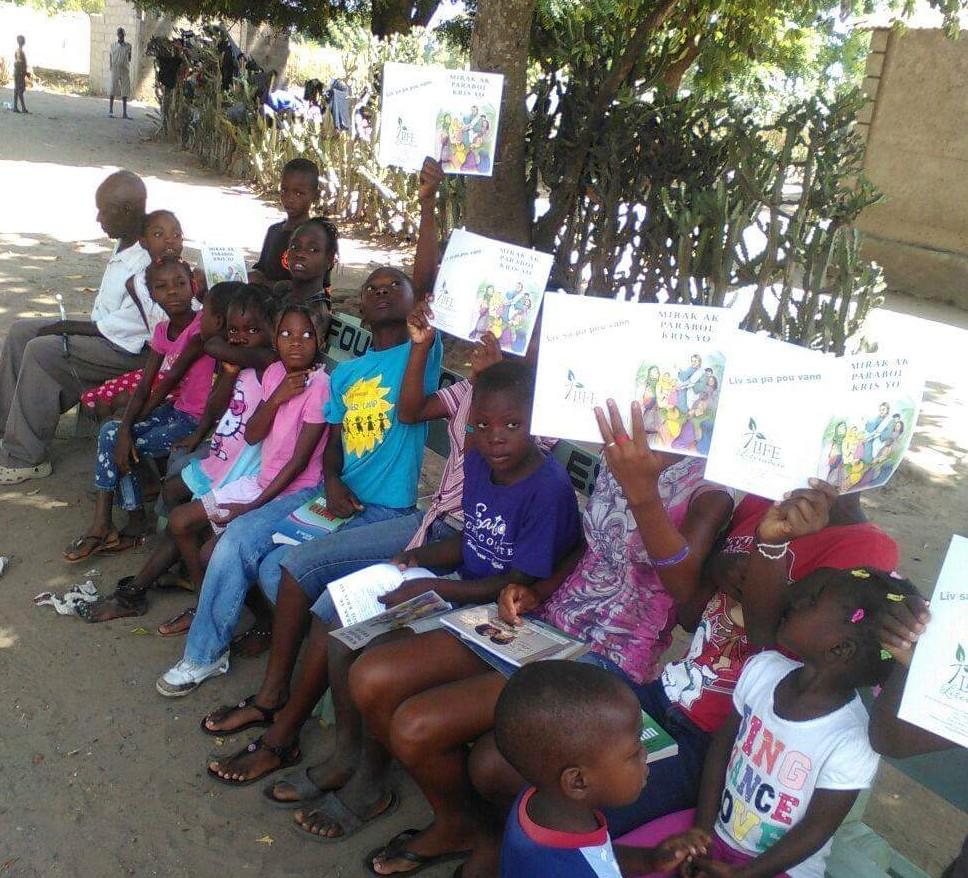 Pastor Benjamin Kids Bible Study