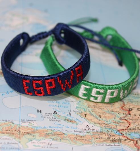 Haitian-Made Bracelet, Espwa Text