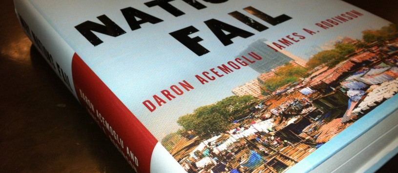 why nations fail a book Why nations fail is a non-fiction book by james a robinson and daron acemoglu which is based on the views and insights from the economic history of each country to be able to answer why nations grow differently, why others succeed while others fail.